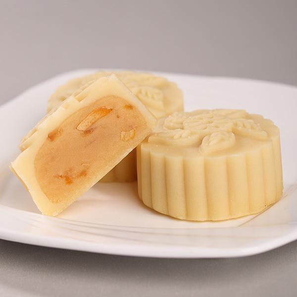 山皮奶酪白玉香柚月饼