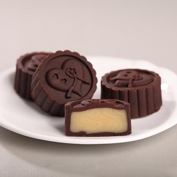 巧克力柠檬芝士月饼