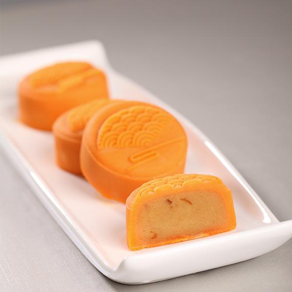 脐橙芝士月饼