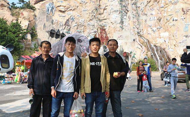 2015烟台瑞华食品组织全体员工神雕山野生动物园旅游