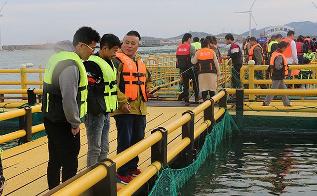 烟台瑞华食品精英团队畅游石岛赤山